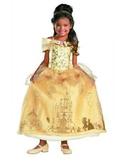 Child Deluxe Prestige Disney Beauty And The Beast Princess Belle Costume