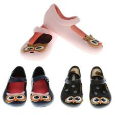 Girls Sandals Anti-slip Baby Shoes Jelly Shoes Summer Kids Rain Boot Owl Pattern