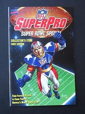 NFL SuperPro Super Bowl Special #1  NM- 1991 High Grade Marvel Comic