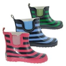 PLAYSHOES Children Rubber Boots Rain Boots Girls Boys Short shaft Boots