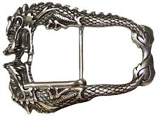FRONHOFER Belt buckle Dragon, Dragon buckle, belt buckle Dragon 17418