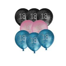 """10"""" 18th Birthday Age 18 Party Latex Balloons Decoration Pack of 20"""