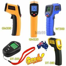 8 Type Non-Contact LCD IR Laser Infrared Digital Temperature Thermometer Gun AU