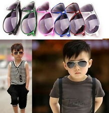Child Cool Children Boys Girls Kids Plastic Frame Sunglasses Goggles Eyewear SZ