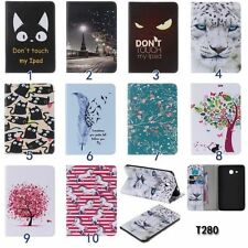 PU Leather Patterned Tablet Case for Samsung Galaxy Apple iPad Wallet Flip Cover