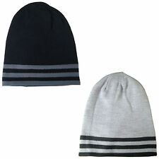 ADIDAS MENS CLIMAWARM SLOUCH REVERSIBLE BEANIE HAT - NEW THERMAL WINTER WARM