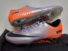 NIKE MERCURIAL VAPOR IX FG ACC FOOTBALL SOCCER BOOTS CLEATS PURPLE /ORANGE 508