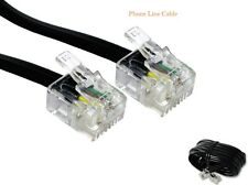 50CM - 30m Meter RJ11 TO RJ11 ADSL BT BROADBAND MODEM INTERNET ROUTER CABLE
