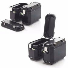 TRIUMPH TIGER 800 BLACK EXPEDITION PANNIERS ALUMINUM  # A9500601