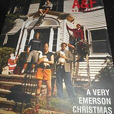 Abercrombie Fitch A+F catalogue Christmas 2000 Bruce Weber photographer