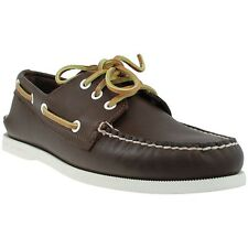 Sperry Top-Sider A/O 3-Eye Deck Shoes - Classic Brown