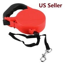 Pet Dog Cat Traction Rope Walking Lead Puppy Automatic Retractable Leash  25ft/8