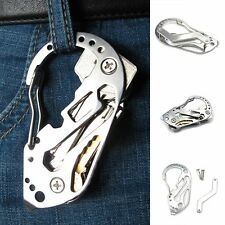 EDC Pocket Wrench Screwdriver Outdoor Tool Multifunction Bottle Opener Key Chain