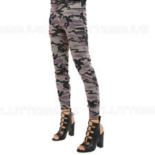 Camouflage Camo Joggers Leggings Tracksuit Bottoms Womens Ladies Size New ❤