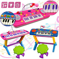 44 KEY KIDS ELECTRONIC KEYBOARD PIANO MUSICAL INSTRUMENT CHILDS TOY PLAY SET MIC