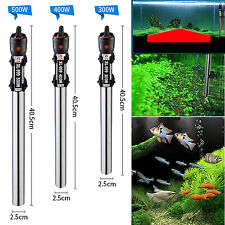 500W Stainless Steel Submersible Water Heater Heating Rod For Fish Tank $