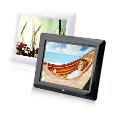 8 High TFT-LCD HD Digital Photo Movies Frame Alarm Clock MP3 MP4 Player LDT