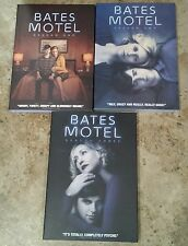 Bates Motel The Complete Season 1 2 3 DVDs Discs One Two Three