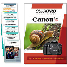 Canon T3 Quickpro Camera Training DVD Instructional Video Guide SLR NEW