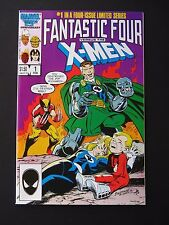 Fantastic Four vs X-Men#1,2,3,4 1987 Lot  of 4 NM High Grade Marvel Comics