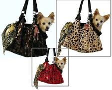 Animal Print Small Dog Carrier Purse Pet Carrier Dog Tote Small Dog Purse