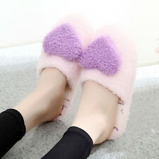 Winter women shoes indoor new plush Multisize slippers pink Anti-slip girls