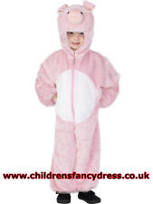 Children's Pig Fancy Dress Full Costume - Animal and TV Themes - Peppa Pig