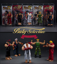 "NECA Street Fighter 7"" 18cm Action Figure Collection Guile Ryo Ken & Survival Mo"