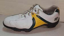 NFL FootJoy MyJoys Men's NFL Green Bay PACKERS Golf Cleats/Shoes - Size 13 M