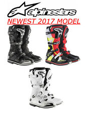 ALPINESTARS TECH 8 RS Offroad Racing Boot Black Red Yellow White ALL SIZE COUPON