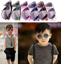 Child Cool Children Boys Girls Kids Plastic Frame Sunglasses Goggles Top LN