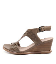 New Valeria Grossi Tolsa Vg Camel Womens Shoes Casual Sandals Heeled