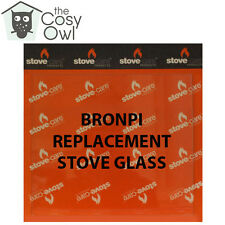 Bronpi Replacement Stove Glass - Heat Resistant Glass For Bronpi Stoves