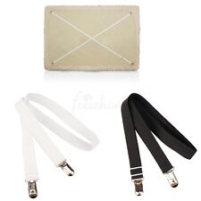2x 1.5M Bed Sofa Mattress Sheet Clips Grippers Straps Suspender Fasteners Holder