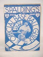 Spalding's Official Ball Guide 1932 56th Year