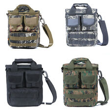 Military MOLLE Tactical Field Laptop Briefcase Gear Messenger Shoulder