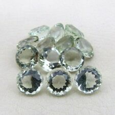4mm - 20mm Natural Green Amethyst Faceted Cut Round  Top Quality Loose Gemstone