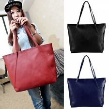 Women Fashion New Synthetic Leather Vintage Style Shoulder Bag Casual Handbag