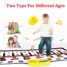 Touch Play Keyboard Musical Music Singing Gym Carpet Mat Best Kids Baby Gift LOT