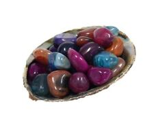 Multi-Colored Agate Tumbled Stones