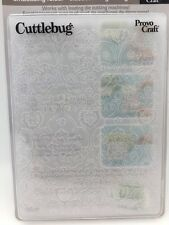 Cuttlebug Textile Scroll Embossing Die