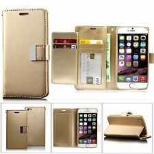 Luxury Magnetic Flip Cover Stand Wallet Leather Case For Samsung iPhone Models