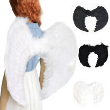Fashion Feather Wings Angel Fairy Fancy Dress Costume Halloween Party Favor UK