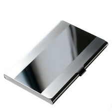 Stainless Steel Pocket Name Credit ID Business Card Holder Box Metal Case RX