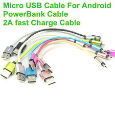 25cm Short Micro USB Data Sync&Charging Cable For Samsung Android Phones Lot