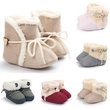 Baby Girl Boy Soft Booties Snow Boots Infant Toddler Newborn Crib Shoes Popular