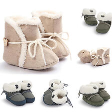Baby Girl Boy Soft Booties Snow Boots Infant Toddler Newborn Crib Shoes Dulcet