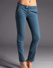 NEW Rock and Republic Alycia Dusty Blue women's twill pants sz 25  $176
