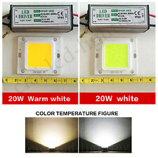 10X20W LED SMD Chip Bulbs + LED Driver Transformer Power Supply IP65  Floodlight