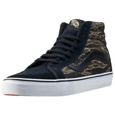 Vans Sk8 Hi Reissue Mens Trainers Navy Black New Shoes